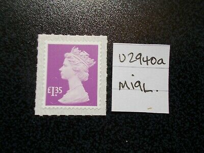 GB 2019~ Security Machin~£1.35~SG U2940a~no source code~M19L~~Unmounted Mint~UK