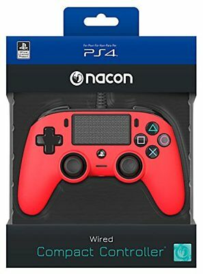 Wired Pad Ps4 Red Nacon