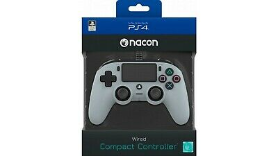 Wired Pad Ps4 Silver Nacon