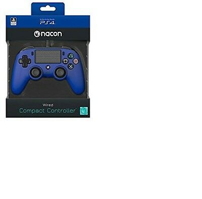 Wired Pad Ps4 Blue Nacon