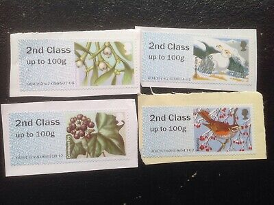 """200 Unfranked 2nd Class PICTORIAL   """"Post & Go"""" Stamps Labels Free Post"""