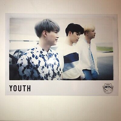 BTS Japan Official YOUTH Photocard Pre-order Limited Promo Photo Suga Jimin Jin