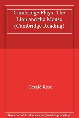 Cambridge Plays: The Lion and the Mouse (Cambridge Reading),Gerald Rose