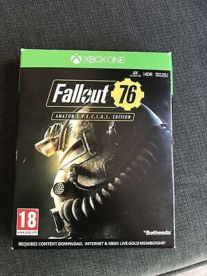 FALLOUT 76 SPECIAL Edition Xbox One Game Amazon Special Edition