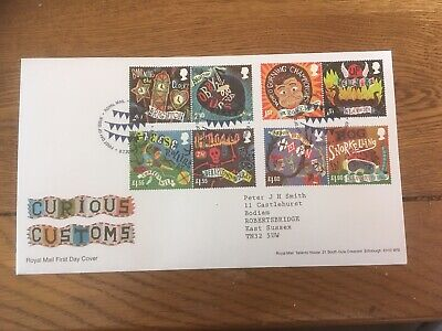 GB 2019 Curious Customs Royal Mail FDC Tallents House, Edinburgh FDI SHS