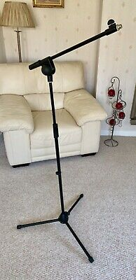 Professional Boom Microphone Mic Stand Holder Adjustable w. clips - New