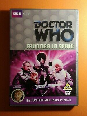 Doctor Who Frontier in Space 2Disc Special Edition BBC DVD Jon Pertwee Season 10