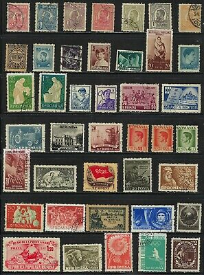 Romania  -  Collection of Older Stamps .............................R 7 20