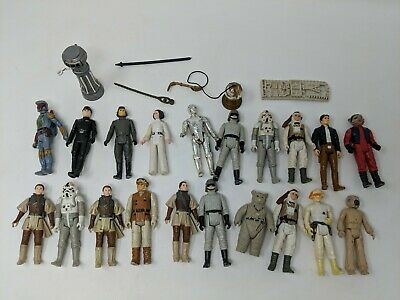 Vintage Star Wars Figures, Job Lot Of 21, Some Accessories, Original, Boba Fett