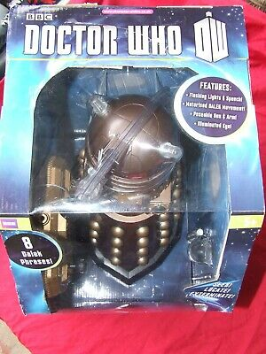 "Doctor Who Radio Controlled Dalek 12"" High Boxed Unused"