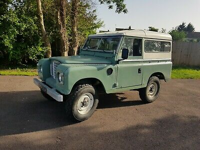 Land Rover Series 3 1974 2.25 petrol galvanised chassis -bulkhead tax mot exempt
