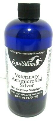 EquiSilver Respiratory Solution 16 oz. New/Sealed, FREE SHIPPING