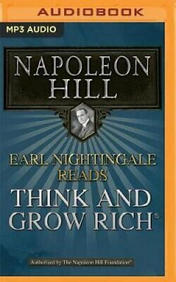 Earl Nightingale Reads Think and Grow Rich by Napoleon Hill 9781543626216