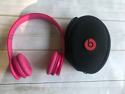 Beats by Dr. Dre Solo HD Headband Headphones - Pink (no Cord/cable)