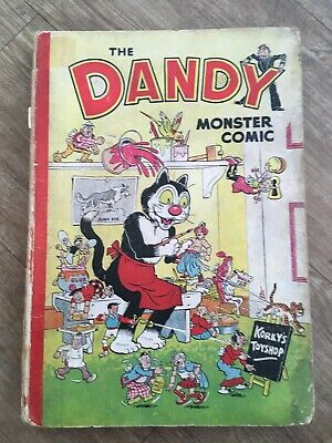 The Dandy Monster Comic Annual 1952 DC Thomson Korky's Toyshop