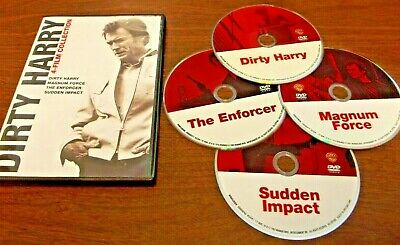 Dirty Harry Collection: 4 Film Favorites DVD 4 Disc Clint Eastwood