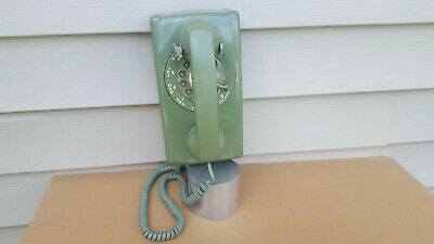 Vintage Western Electric Bell System Rotary Wall Telephone 2-79 #554Bmp