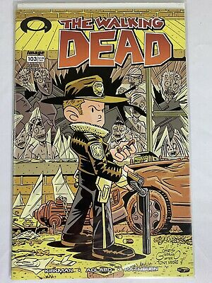 SPAWN 223 McFARLANE Homage Image Comics Walking Dead Cover SPAWN OF THE DEAD NM