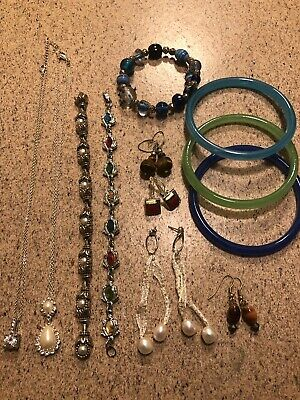 Junk Drawer Lot- Vintage Antique Women's jewelry (B)