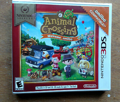 Animal Crossing: New Leaf -- Welcome Amiibo Nintendo Selects - For 3DS
