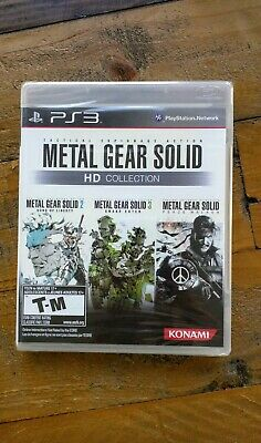 NEW LOT 4 GAMES - Metal Gear Collection Trilogy 4 5 Rising + OST PS3 Playstation
