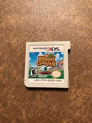 Animal Crossing: New Leaf (Nintendo 3DS, 2013) Cartridge Only