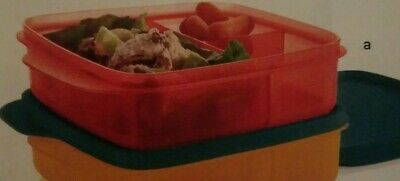 Tupperware  Lunch it Container and snack cup pink punch