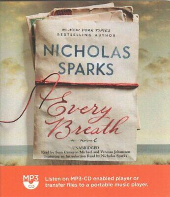 Every Breath by Nicholas Sparks 9781549121029 | Brand New | Free US Shipping