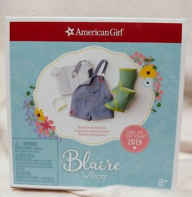 American Girl Blaire Wilson Blaire's Gardening Outfit