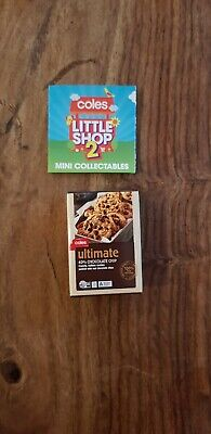 Coles little shop 2 mini collectables- Ultimate Chocolate Chip Cookies