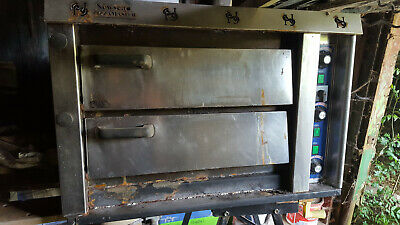 Twin Deck Single Phase Pizza Oven