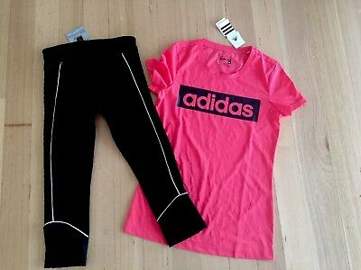 Lorna Jane Brand New Tights  And Adidas Brand New With Tags T Size 10