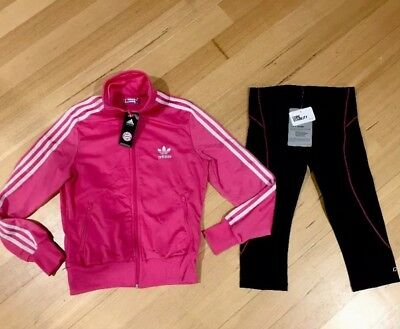 Lorna Jane Brand New Tights And Adidas Zipped Too Size 10