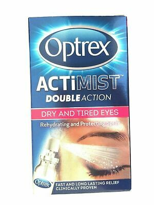 Optrex ActiMist Double action 2 in 1 Eye Spray - 10ml dry & tired eyes 1, 2 or 3