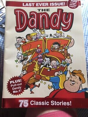 The Dandy -Last Ever Issue VGC
