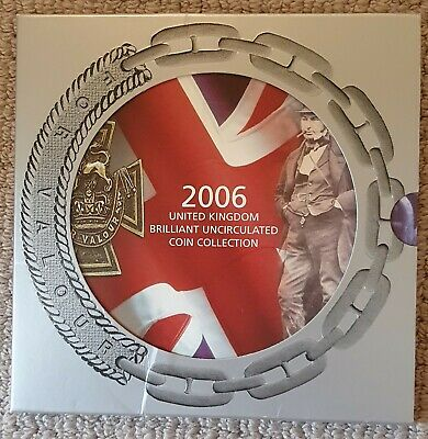 2006 United Kingdom Brilliant Uncirculated Coin Collection