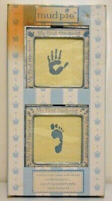 Mudpie My First Hand Foot Print Ink Pad Matte Board 86946