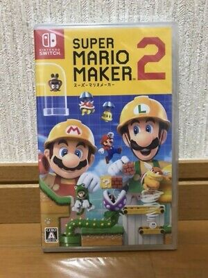 Nintendo Switch Super Mario maker 2 + Geo limited bonus 2-stage lunch box