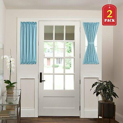 French Door Curtains Patio Door Curtain Panel Blackout Curtains Patio Drapes