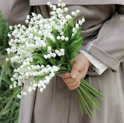 Lily Of The Valley Fake Bouquet