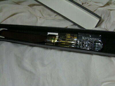 Vintage 1995 Waterford Crystal Lismore Bridal Knife w/Orig Box ~Made in Ireland~