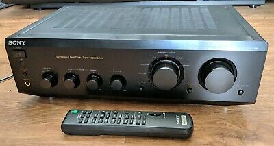 Rare Sony TA-FE530R Stereo Integrated Amplifier Amp HiFi Separate + Remote