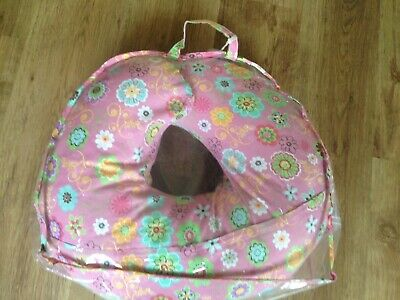 Boppy Chicco 4 in 1 Nursing Breast feeding Support Pillow Pink Floral