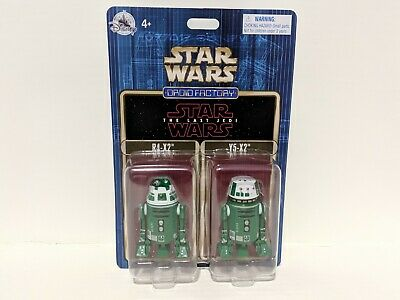 Disney Parks Star Wars The Last Jedi Droid Factory 2 Pack R4-X2 & Y5-X2 NEW