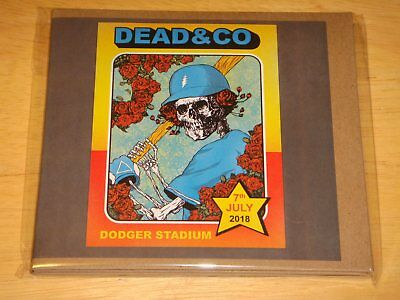 Grateful DEAD & COMPANY Their Best Show! 7/7/18 Live Dodger Stadium L.A. 3CD New