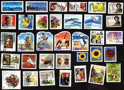 Canada LOT of recent NICE Stamps ;  USED  FINE (LOT # 90) 2 scan