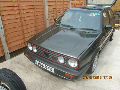 "Vw Golf Gti 16V Mk2 1991 3 Door In Rare Oak Green Genuine 120K ""Got To See This"""