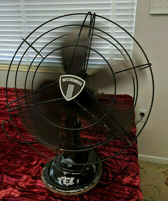 Vintage WESTINGHOUSE Electric Fan 17 1/2 inches across