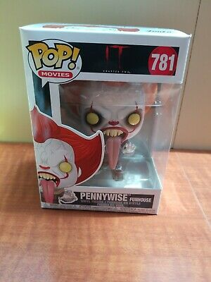 Funko Pop Movies #781 Pennywise Funhouse It Chapter Two In Hand