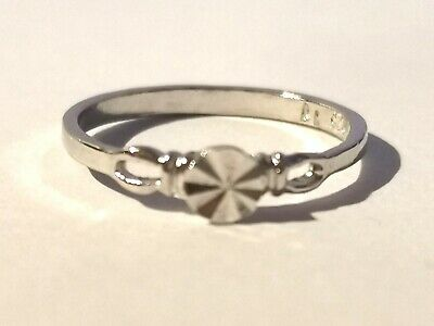 Little Childs Silver Tone Ring - Metal Detecting Find